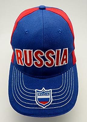 Gorra de béisbol Cap Russia, Rusia: Amazon.es: Deportes y aire libre