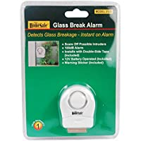 HomeSafe Glass Break Window / Door Shock Detection Sensor 100-decibel Alarm