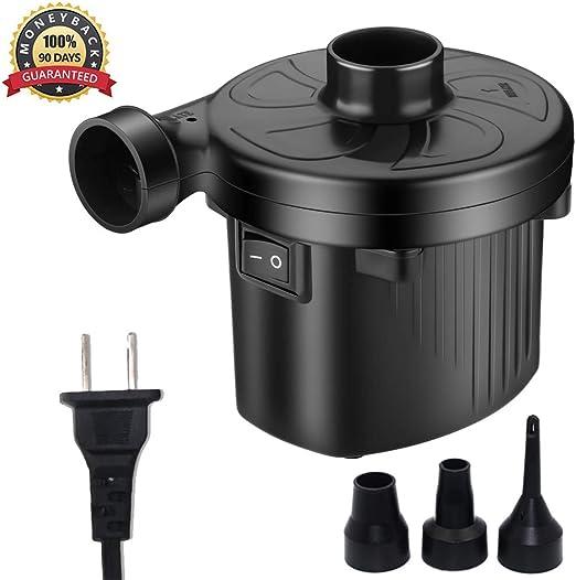 Amazon.com: keruita Bomba eléctrica para inflables Bomba de ...
