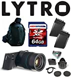 Lytro Illum Light Field Digital Cameras Bundle w/ 64GB, Backpack, Lytro Battery B2-0022