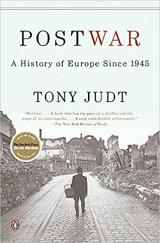 Postwar: A History of Europe Since 1945: Tony Judt: 8601400310151