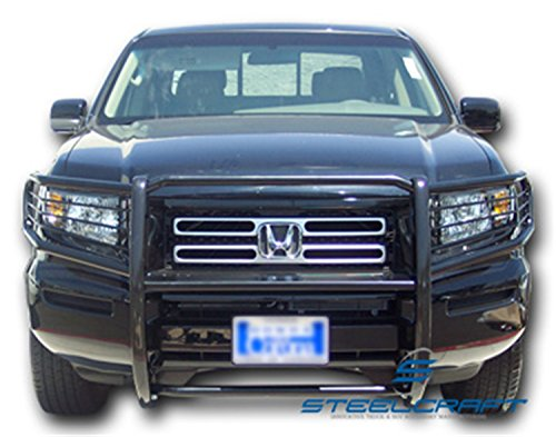 Black Grille Guard Steelcraft 52260