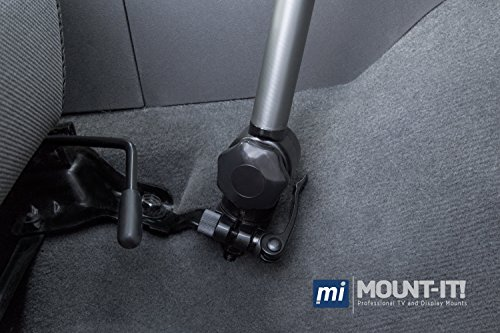 Mount-It! MI-526 Car Laptop Mount Notebook Tablet Holder for Commercial Vehicles, Trucks Fits iPad and Other Tablet Computers, Heavy-Duty Design with Full Motion Tray, Extendable Arms, Lockable Arm by Mount-It! (Image #4)