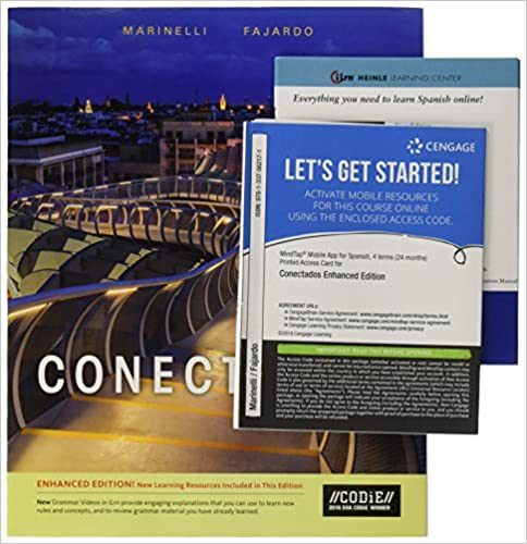Communication Manual Enhanced For Marinelli Fajardos Conectados ILrnTM Language Learning Center 4 Terms 24 Months Printed Access Card 1st Edition