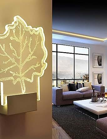 MEIREN Candelabro de pared / Iluminación baño / Iluminación para pared exterior / Luces para Leer de Pared Cristal / LED / Bombilla Incluida , warm white-220v