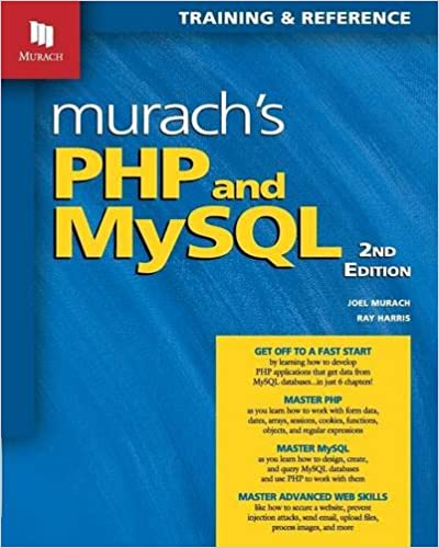 Murach's PHP and MySQL, 2nd Edition ISBN-13 9781890774790