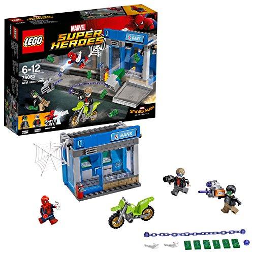 Lego Marvel Super Heroes - Le braquage de banque - 76082 - Jeu de Construction