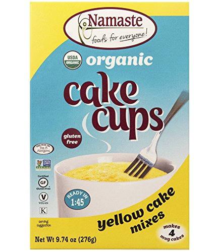 Namaste Foods Organic Cake Cup, Yellow, 9.74 Ounce