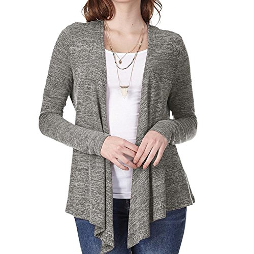 Price comparison product image Clearance Sale! Wintialy Women Casual Shirt Long Sleeve Loose Sashes Irregular Knit Cardigan