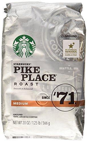 Starbucks Pike Place Roast, Medium Roast, Inform, 20 oz