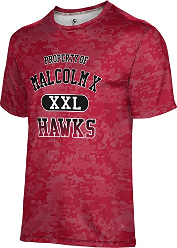 ProSphere Men's Malcolm X College Digital Tech Tee (Medium)