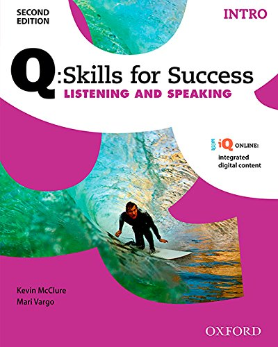 Q:Skills for Success Listening and Speaking 2E Intro Student Book