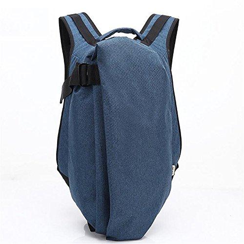 Moda Anti-robo de mochila Mochila Mochila escolar Oxford Casual mochilas impermeables Viajes bolsa de ordenador portátil masculino Mochila camping para el hombre, la mujer, la escuela / Senderismo /Ou blue