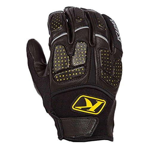 Klim Dakar Pro Men's MotoX Motorcycle Gloves - Black/Large