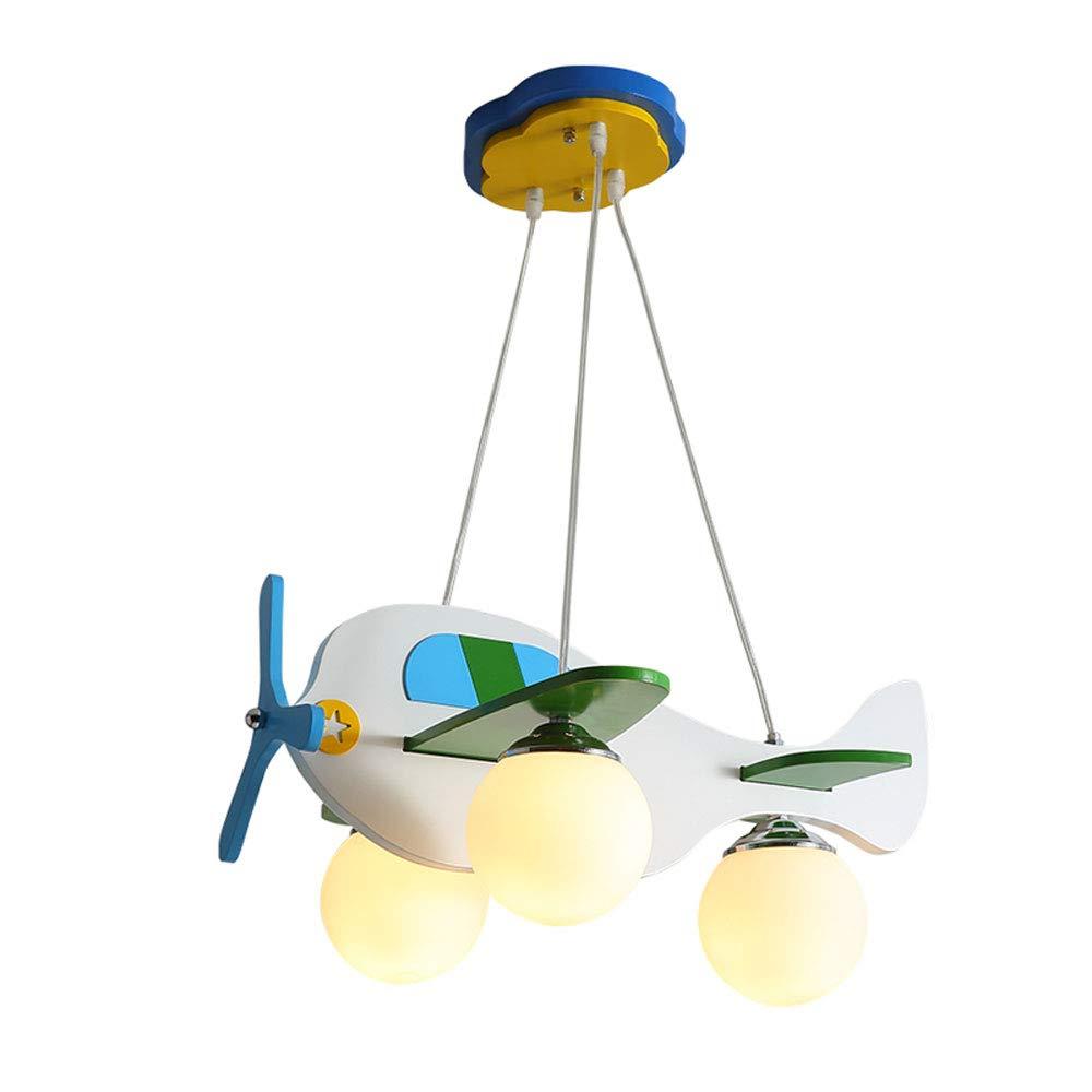 Moderne Minimalistische Verstellbare Kronleuchter, Junge Mädchen Flugzeug Anhänger Beleuchtung, Cartoon Persönlichkeit Dekorative Leuchte Licht, Schlafzimmer Kinderzimmer Studie Wohnzimmer Deckenleuch