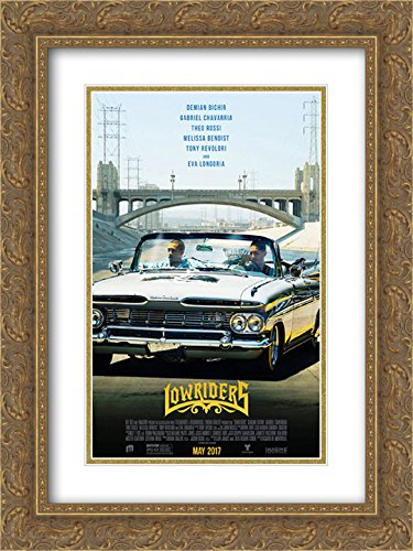 Lowriders 18x24 Double Matted Gold Ornate Framed Movie Poster Art Print