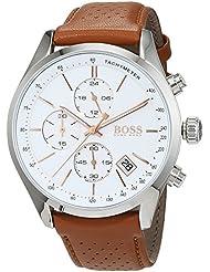 Hugo Boss Grand Prix Chronograph 1513475 Brown Mens Quartz Watch