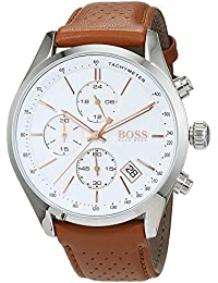 Grand Prix Chronograph 1513475 Brown Men's Quartz Watch