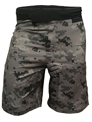 Gear Shorts 1 - Epic MMA Gear WOD Shorts Agility 1.0 (Digital Camo, 34)