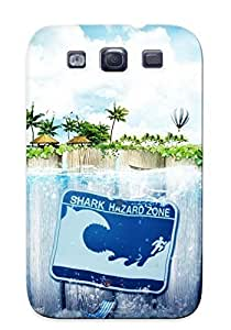 Hot Tpu Cover Case For Galaxy/ S3 Case Cover Skin Design - Water Landscapes Nature Digital Art Photo Manipulation Lacza