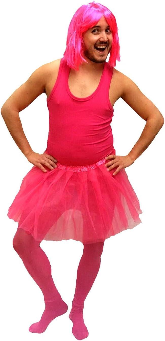 Disfraz de Bailarina Fucsia - Hombre, L: Amazon.es: Ropa y accesorios