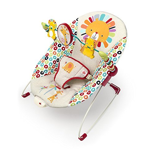 Bright Starts Playful Pinwheels Interactive Baby Bouncer wit