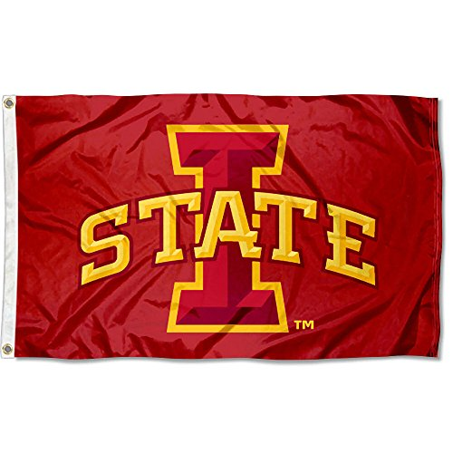 Iowa State Cyclones ISU University Large College Flag (Colleges University Iowa)