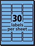 Avery Neon Address Labels with Sure Feed for Laser