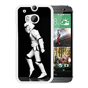 Fashionabe HTC ONE M8 Case ,Popular And Unique Designed Case With Star Wars Michael Jackson Moonwalk White HTC ONE M8 Cover Phone Case