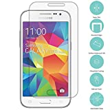 Samsung Galaxy Core Prime Screen Protector, TechSpec(TM) Clear Tempered Glass Film Screen Protector Clear for Samsung Galaxy Prevail LTE Core Prime G360P