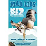 Ice Age 2 The Meltdown Mad Libs With Ice Age 2 Inkpen