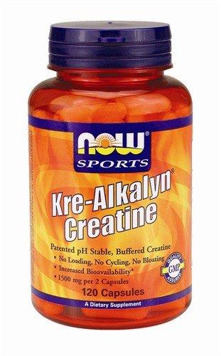 Now Foods Kre-Alkalyn la créatine - 120 Capsules