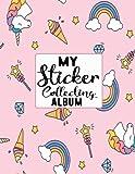 My Sticker Collecting Album: Blank Sticker Book