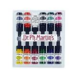 Dr. Ph. Martin's 800941-XXX  Spectralite Private Collection Liquid Acrylics Bottles, 0.5 oz, Set of 12 (Set 1)