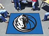 FANMATS 19435 NBA - Dallas Mavericks Tailgater Rug , Team Color, 59.5''x71''