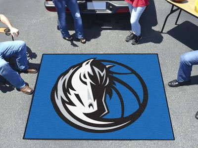 FANMATS 19435 NBA - Dallas Mavericks Tailgater Rug , Team Color, 59.5''x71'' by Fanmats