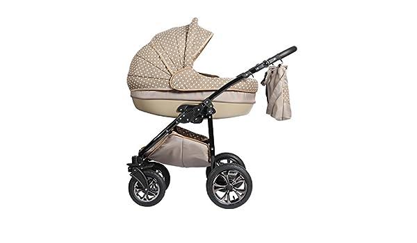 Sistema de viaje 3 en 1, Cochecito, Carrito Bebe Zippy Lux N5 cappuccino-points: Amazon.es: Bebé