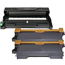 3 Pack - Compatible Black High Yield Toner Cartridge for TN-450 (TN450) TN-420 & DR-420 Drum Unit Works With Following Printer Models: Brother MFC 7240 7360N 7365DN 7460DN 7860DW / HL 2130 2132 2220 2230 2240 2240D 2242D 2250DN 2270DW 2275DW 2280DW / IntelliFax 2840 2940 by Forlei® Products