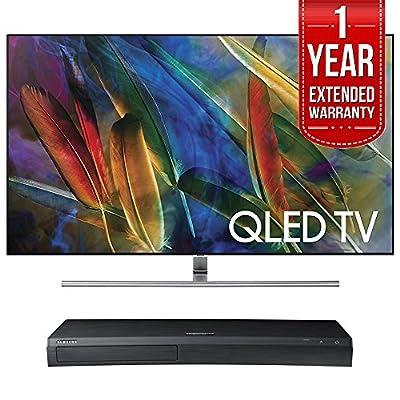 "Samsung QN55Q7F 55"" 4K UHD HDR QLED Smart TV with UBD-M9500 4K Ultra HD Blu-ray Player"