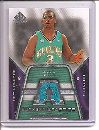 best service a7c1f 13c43 Amazon.com: Chris Paul New Orleans Hornets 2007-08 Upper ...