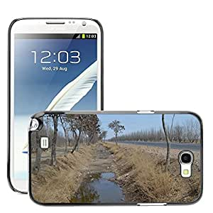 Hot Style Cell Phone PC Hard Case Cover // M00308929 Views Landscape Winter // Samsung Galaxy Note 2 II N7100
