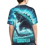 God-Zilla Youth Boys Girls Dinosaur King of