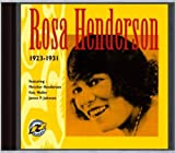 1923-1931 by Rosa Henderson (2002-01-01)