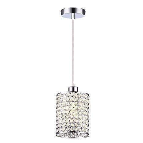 decorative pendant lighting. Wtape 1-Light Crystal Mini Cylindrical Pendant Lighting, Decorative  Light With 55\u0027 Decorative Pendant Lighting A