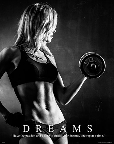 Workout Poster Motivational Lifting Athletic product image