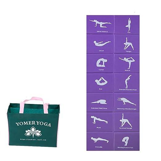 Estera de yoga para principiantes / Estera de meditación ...