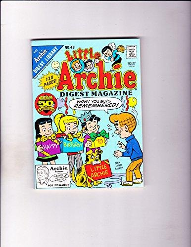 Little Archie Digest Magazine No 48 -1991-