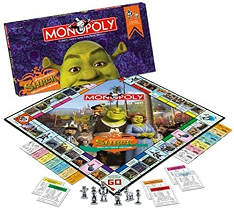 Monopoly - Shrek Collectors Edition: Amazon.es: Juguetes y juegos