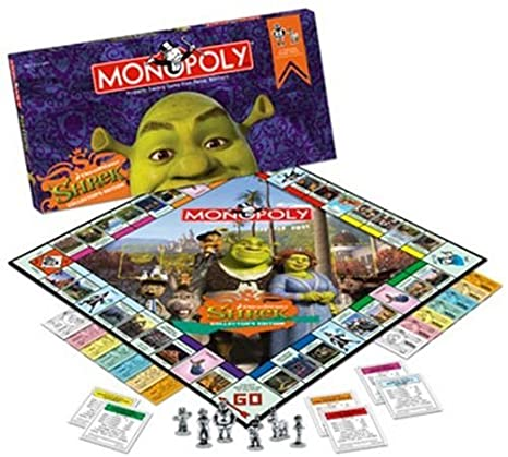 Amazon.com: Monopoly – Shrek Collector s Edition: Toys & Games