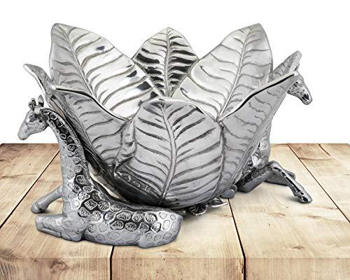 Arthur Court Designs Aluminum Giraffe Ice/Wine Bucket - 14